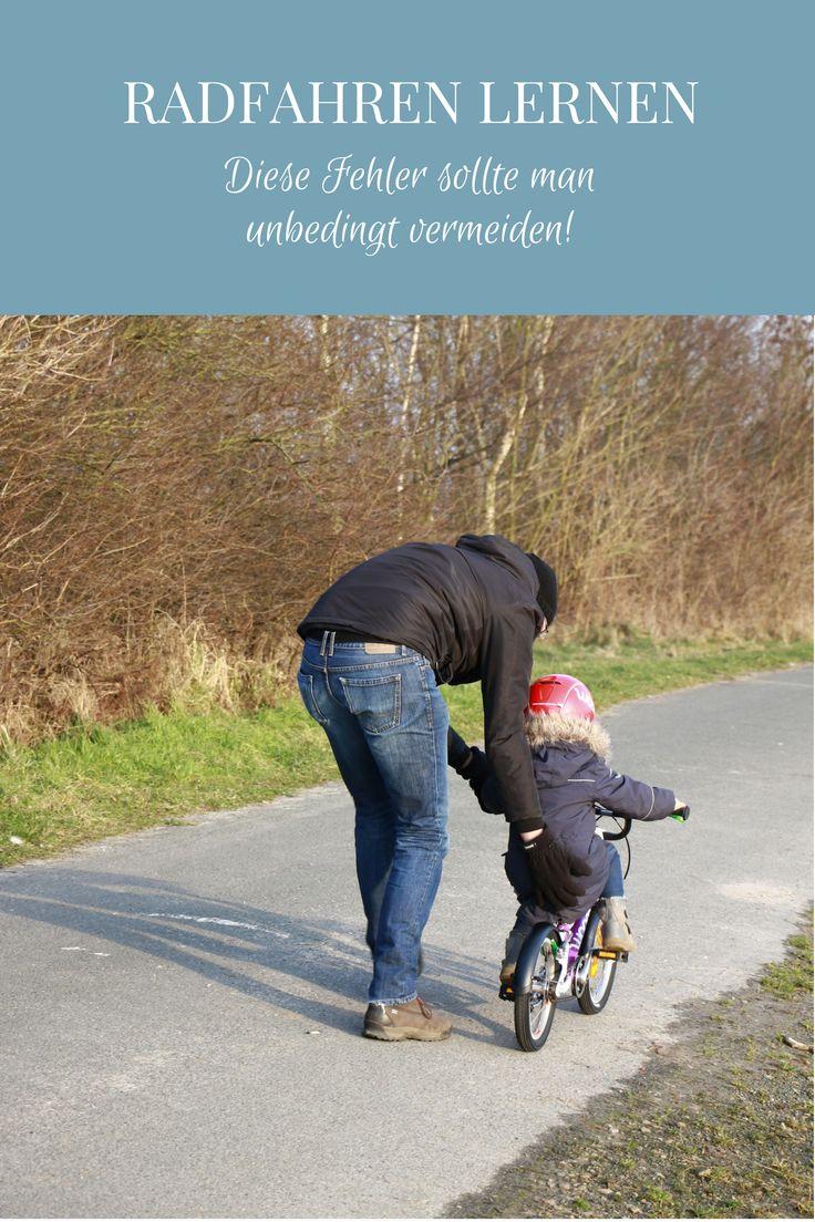 Radfahren lernen: Tipps für ein entspanntes Radfahren üben und eine Kinderfahrrad Empfehlung. Fahrrad fahren lernen ist für Kinder und Eltern gleichermaßen anspruchsvoll. Hier findet man Tipps, was man als Eltern unbedingt vermeiden sollte, wenn Kinder Fahrradfahren lernen. - Werbung