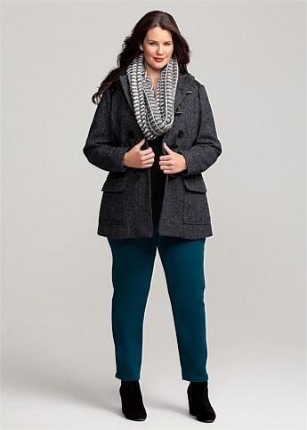 #Virtu Notting Hill Coat #plussize #curvy
