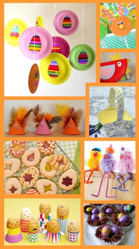 Easter crafts & Easter eats ... every one an Easter treat! #Easter #kids #crafts