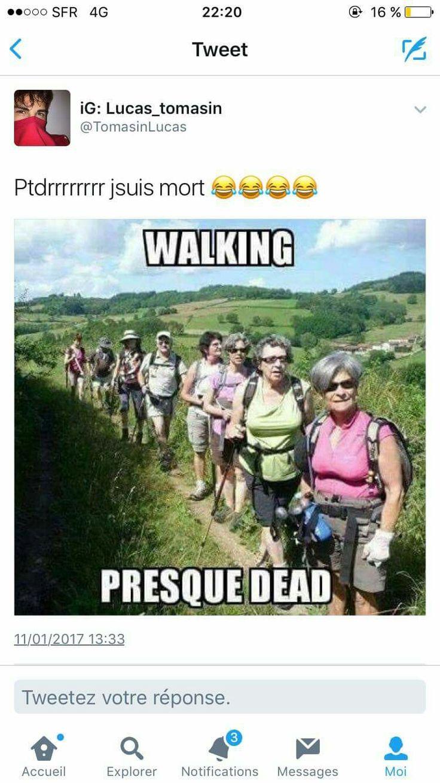Walking presque dead