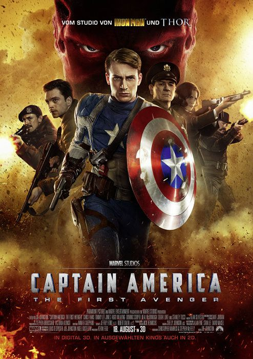 Poster zum Film: Captain America - The First Avenger