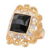 Anel de ônix preto de ouro shopping-o em linha o maior do mundo anel de ônix preto de ouro lojas de varejo plataforma guia sobre AliExpress.com