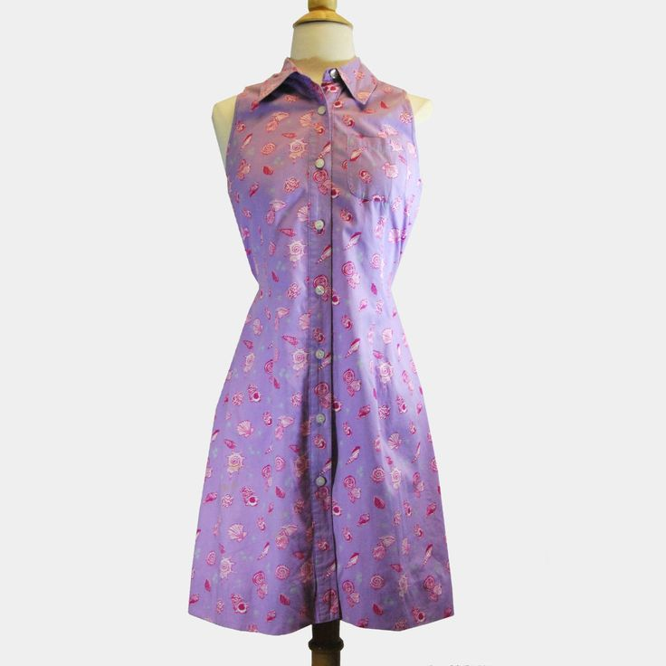 Vintage Lilly Pulitzer Purple Spring Dress