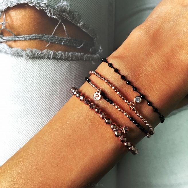 Bransoletka Full Moon Hematyt Rose Gold - Selfie Jewellery - Sklep Internetowy