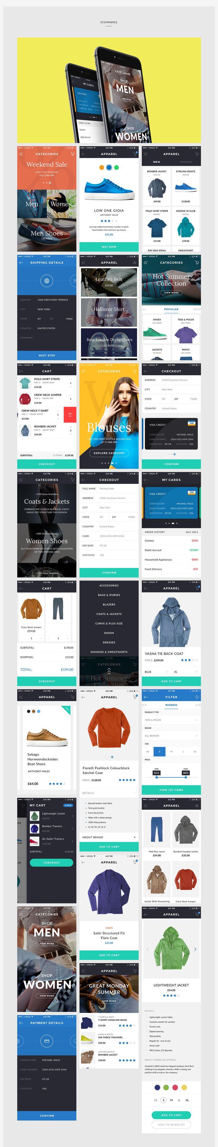 CORE UI Kit on App Design Served