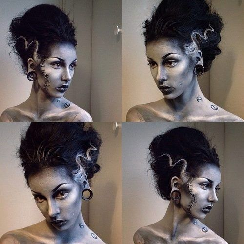 Special effects makeup.