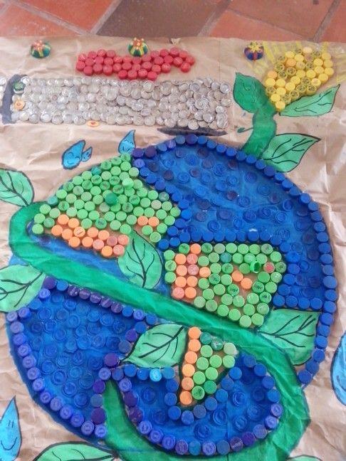 Una linda cartelera en honor al día internacional del agua  #CienciasNaturales