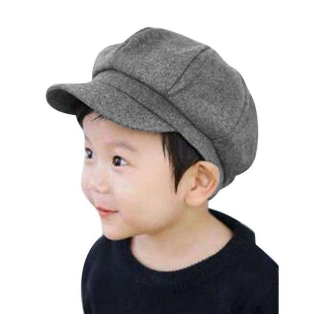 0c5a68c15b1677 Kids Baby Boy Girl Cute Infant Toddler Soft Beret Cap Dome Octagonal Hat  Baseball Casquette