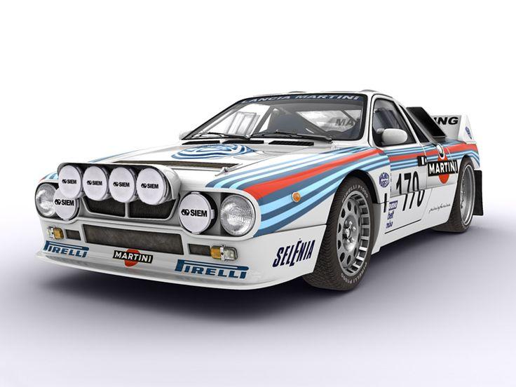 The Rally Car - '84 Lancia 037