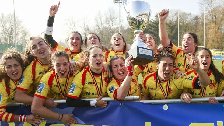 La selección española de rugby gana el campeonato de Europa