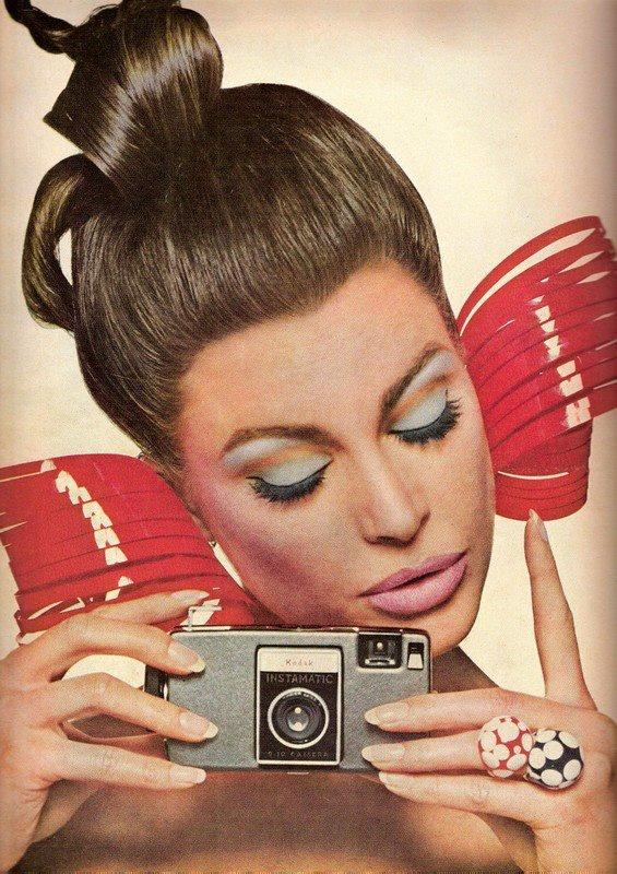 Editha Dussler by Bert Stern