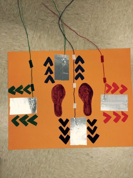 Picture of Makey Makey Dance Revolution