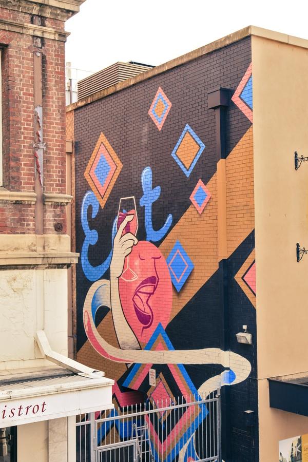 """EAT"" Leigh Street, Adelaide by Matthew Stuckey, via Behance"