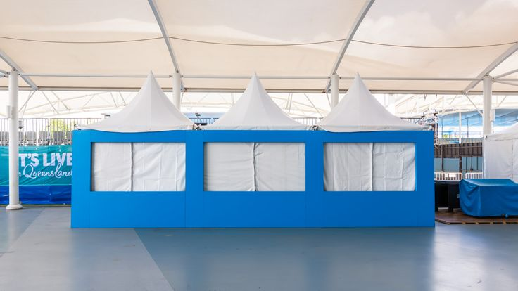 Marquee and Eurotop Signage by Moreton Hire Australia