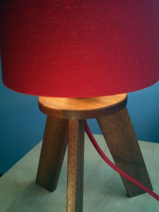 Mahogony lamp