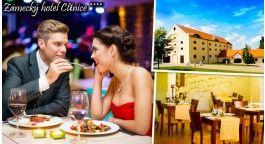 Vychutnejte si ve dvou pohádkové romantické chvíle v Zámeckém Hotelu Ctěnice****