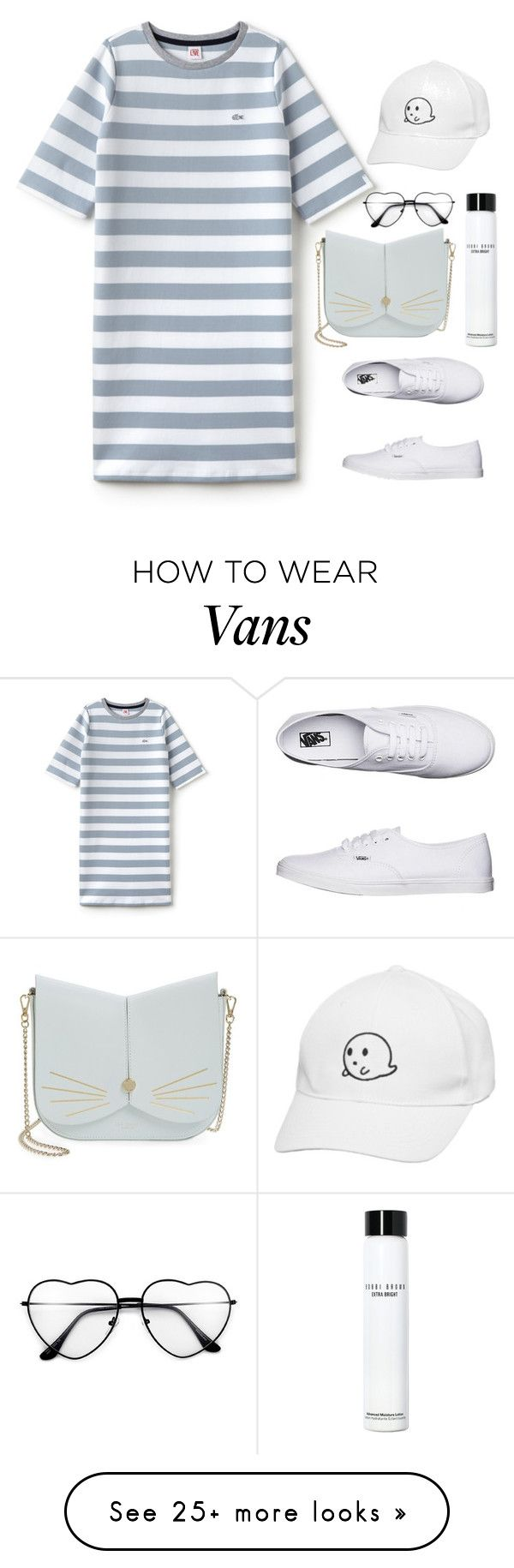 """""""Без названия #117"""" by diankounicorn on Polyvore featuring Lacoste L!VE, Vans, Ted Baker and Bobbi Brown Cosmetics"""