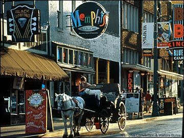 Memphis, Tennessee is known as the birthplace of the Blues and Rock & Roll.  The famous Peabody Hotel and the Peabody Ducks which march to and from the Grand Lobby daily.  Also known for their outstanding bar-b-que.