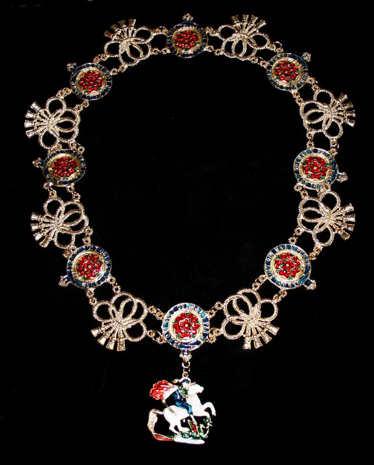 order+of+the+garter | The collar of the Order of the Garter