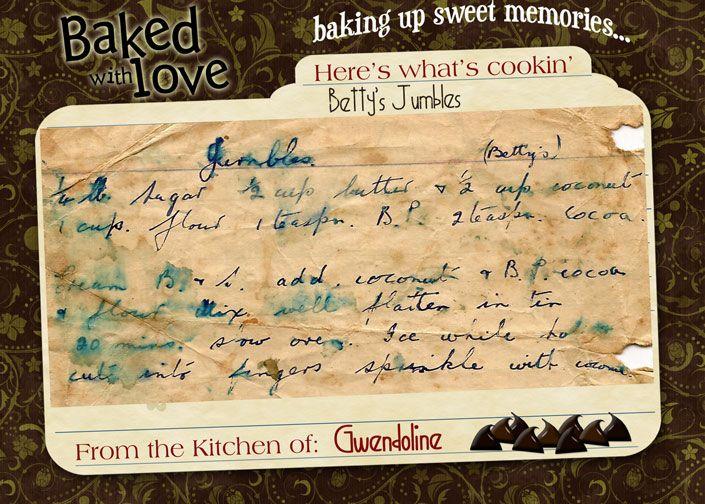 Betty's Jumbles (my mother's recipe)