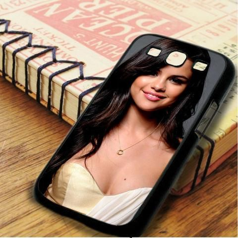 Selena Gomez Nice Smile Idol Star Samsung Galaxy S3 Case