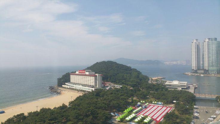 South Korea pusan haeundae 해운대 해수욕장