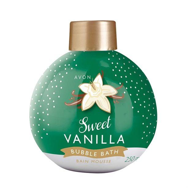 Édes vanília habfürdő