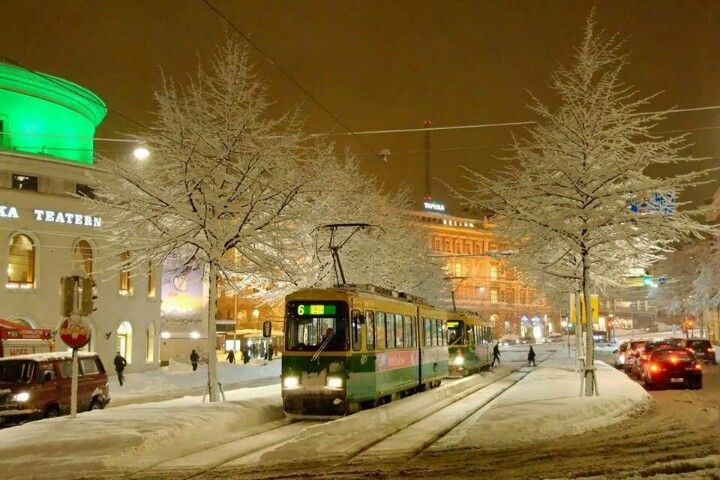 Winter on Mannerheimintie