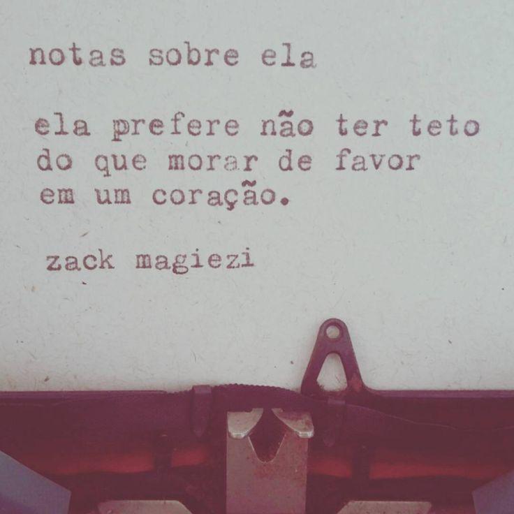 """""""Boa noite e boa semana ♡  #zackmagiezi  #notassobreela"""""""