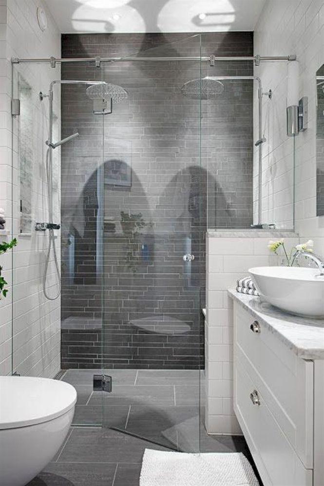 Stunning Small Bathroom Remodel Ideas 47 Modernbathroomcabinets Small Master Bathroom Bathrooms Remodel Bathroom Remodel Master