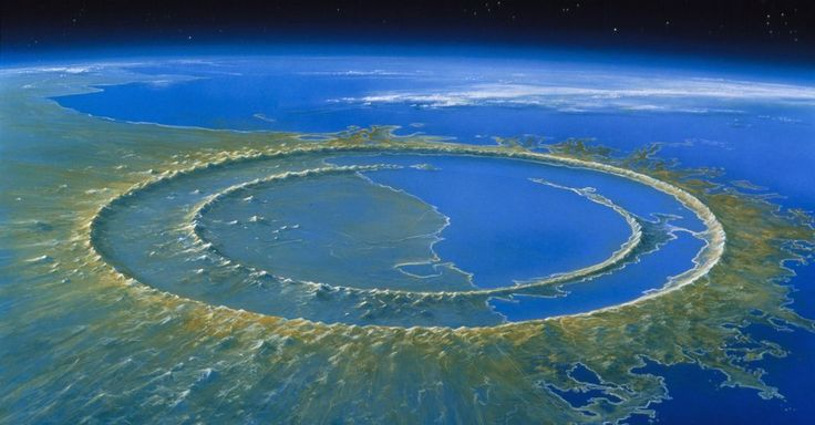 Drilling Into the Chicxulub Crater, Ground Zero of the Dinosaur Extinction.  NYT. By studying hills that formed after an asteroid struck the Yucatán Peninsula, researchers found that materials deep in Earth's crust were brought toward the surface.
