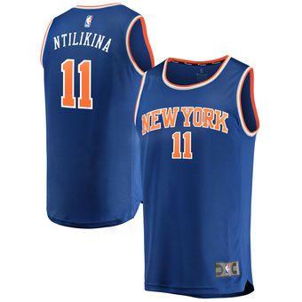 Frank Ntilikina New York Knicks Fanatics Branded Fast Break Replica Jersey  Royal - Icon Edition 5979449ab
