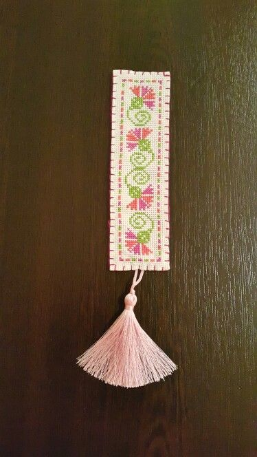 Crossstitch bookmark