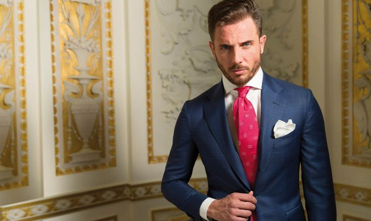 SUIT PRINCE OF WALES - BLUE