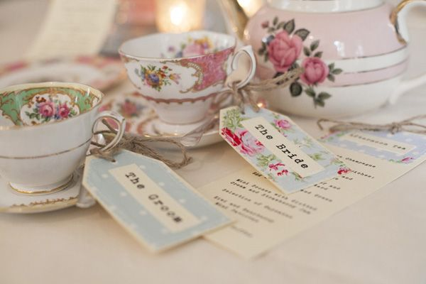 Photo credit www.judicheckettsphotography.com China hire www.jollyvintageteaparty.co.uk English country garden wedding ideas
