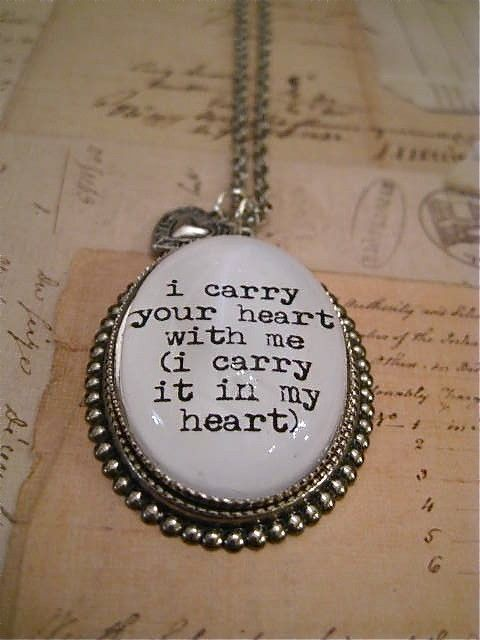 .: Famous Quotes, Heart Tattoo, Favorite Poems, My Heart, Ee Cummings, Favorite Quotes, Carrie, Accessories, Sisters Heart