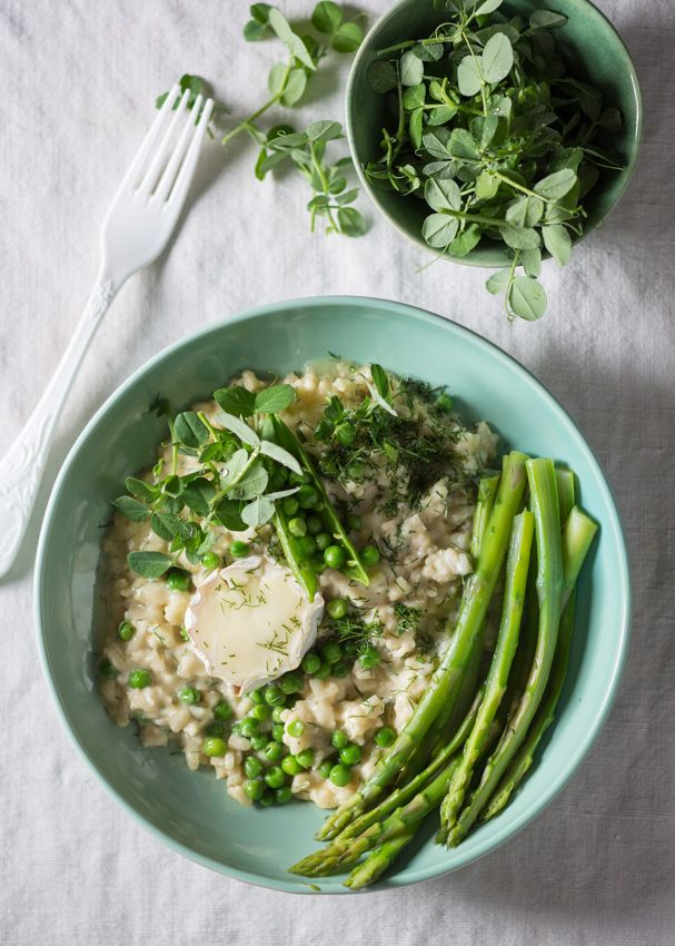 Fennel & goat's cheese risotto