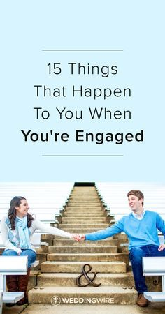 15 Things that Happen to You when You're Engaged - Read more on @weddingwire and see if you can relate! {Amy Allen Photography}