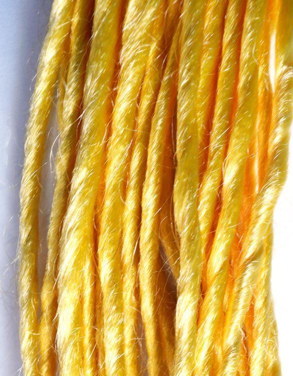 Yellow Synthetic Dreadlocks