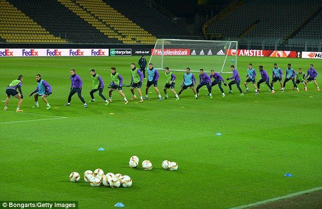 Borussia Dortmund vs TottenhamUEFA Europa League: Team news TV information probable line-ups kick-off time and odds