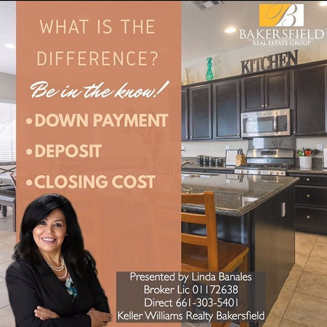 This is a very common question!! 🤔 Major FAQ we get every day! DOWN PAYMENT  The part of the purchase price of a property that the buyer pays in cash and does not finance with a mortgage.  CLOSING COSTS  Expenses (over and above the price of the property) incurred by buyers and sellers in transferring ownership of a property. Closing costs normally include an origination fee, an attorney's fee, taxes, an amount placed in escrow, and charges for obtaining title insurance and a survey…