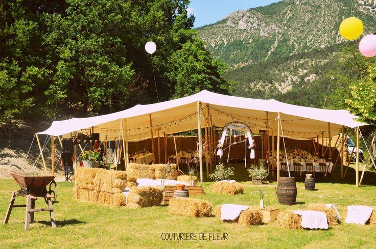 Décoration de mariage bohème avec location de vaisselle vintage © Authentic Love Photography