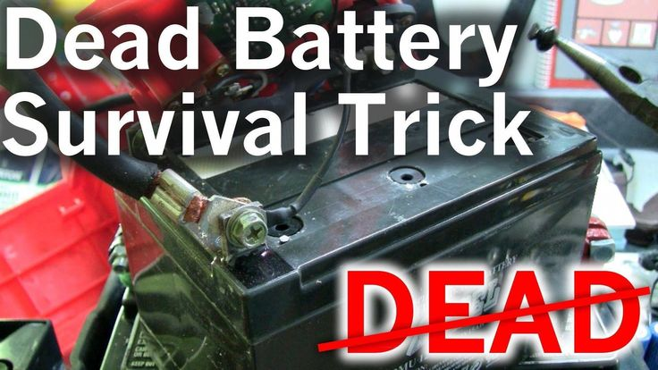 This particular restore old batteries for how to start a
