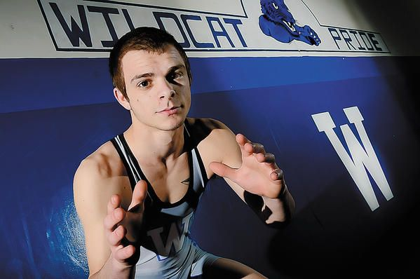 senior pictures wrestling | Williamsport senior Nick Miller is The Herald-Mail's 2012-13 ...