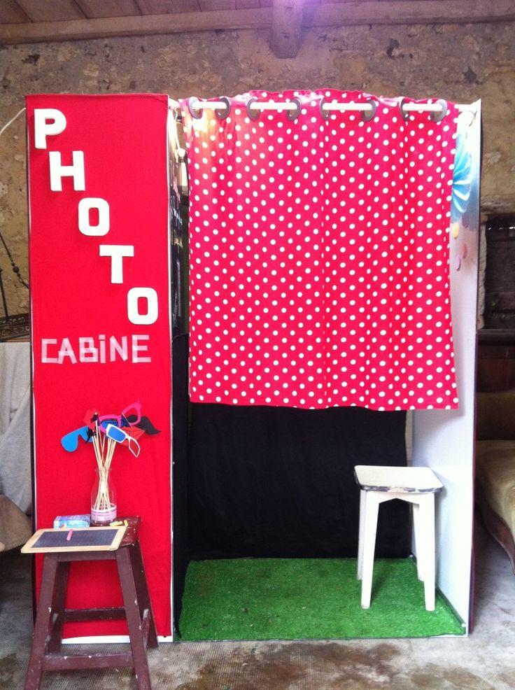 Photocabine home made d'après le tuto de Claire et Pierre fonctionne avec un iPad