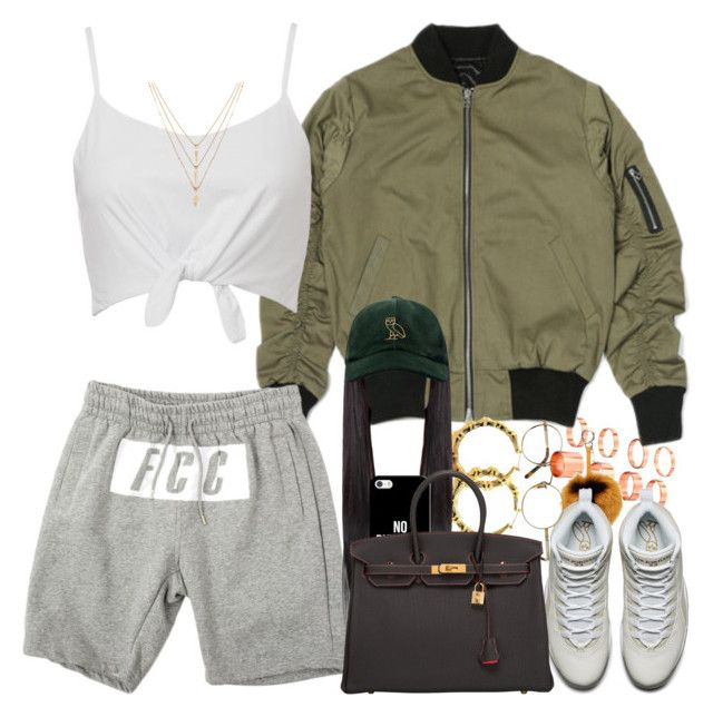 OVO Crew by urban-stylefashion on Polyvore featuring polyvore, fashion, style, Hermès, ASOS, Forever 21, October's Very Own, Casetify, Fendi, Oliver Peoples and clothing