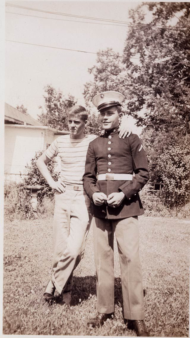 Sidney Phillips and Eugene Sledge - WWII veterans from Alabama, featured on HBO's The Pacific.