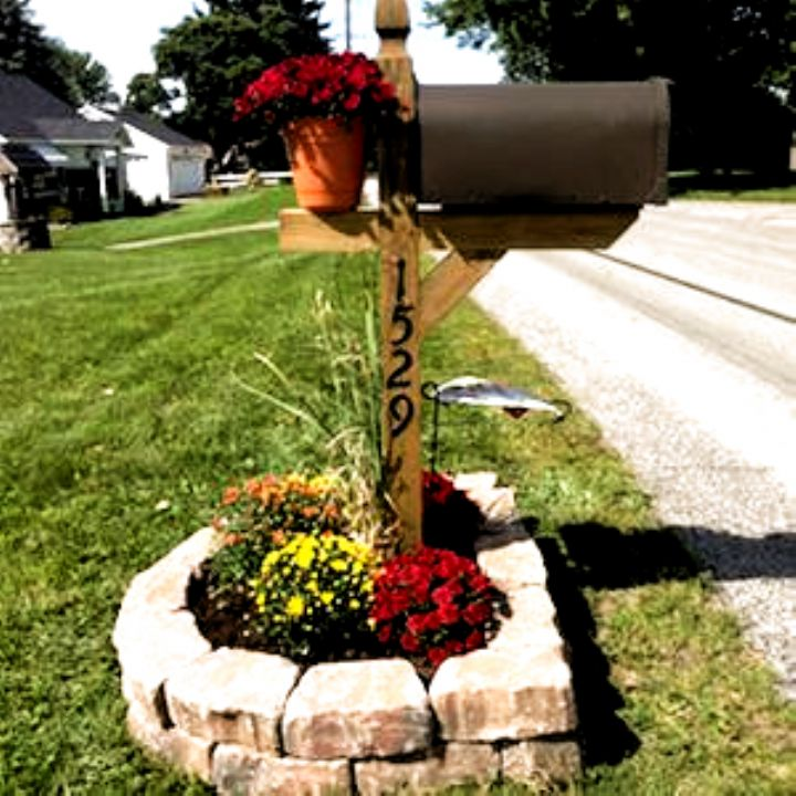 75 Cheap And Easy Front Yard Curb Appeal Ideas Prudent Penny Pincher Landscape Cheap Landscaping Ideas Backyard Landscaping Front Yard Landscaping