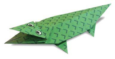 Origami Corocodile2