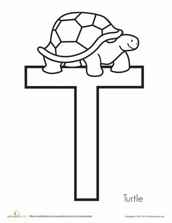 23 best letter t images on pinterest preschool alphabet t is for turtle spiritdancerdesigns Choice Image